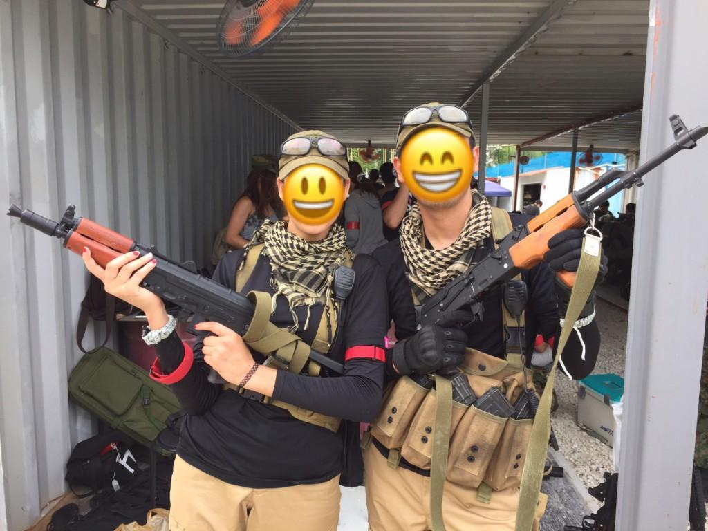 サバゲー PMC装備