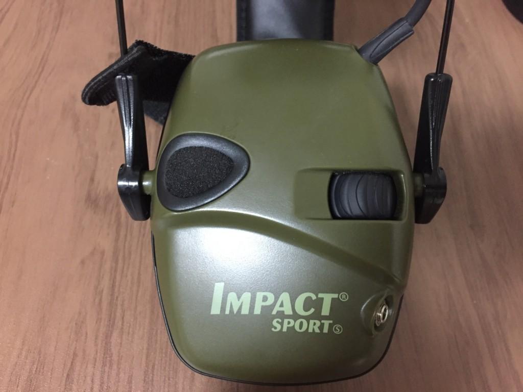 Impact Sport Electronic Earmuff レビュー